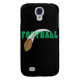 football swoop ball text graphic galaxy s4 case