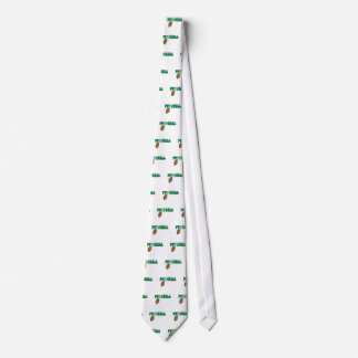 football swoop ball text graphic tie