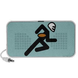 Football Symbol Doodle Speaker