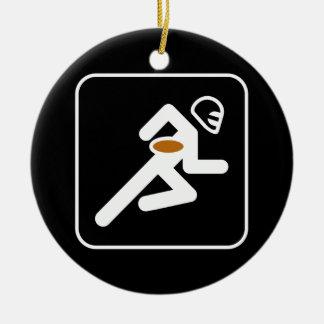 Football Symbol Ornament