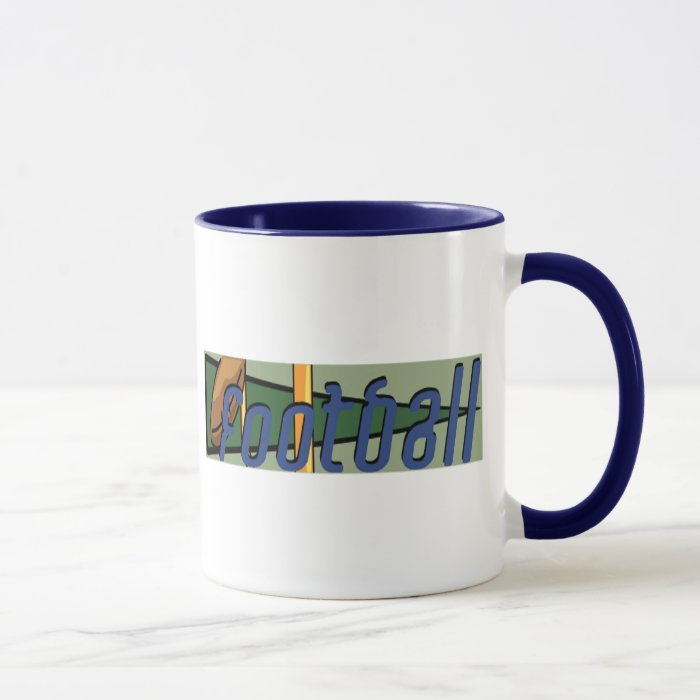 Football T Shirts and Gifts Mug