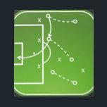 "Football tactics board notepad<br><div class=""desc"">Football tactics board</div>"