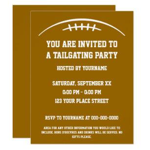 Tailgate Invitations Zazzle