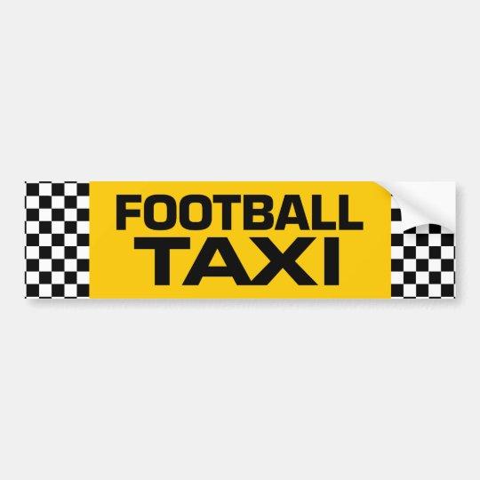Football Taxi Bumper Sticker