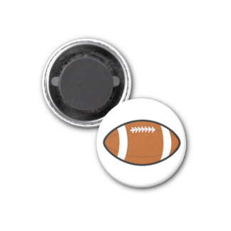 Football TD TAG Game Ball (Brown) Magnet