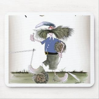 football team captain blues mouse pad