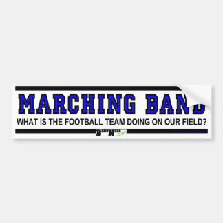 Football Team Doing On Our Field? Bumper Sticker