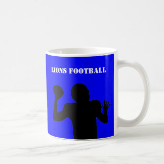 Football team gear coffee mug