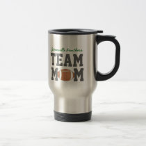 Football Team Mom Gift Mug