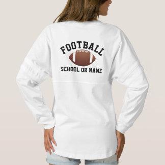 Football Team School Player's Name Custom Spirit Jersey