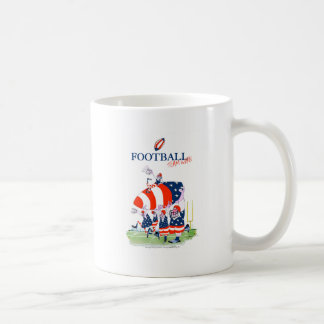 Football team work, tony fernandes coffee mug