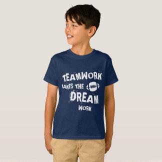 Football Teamwork Kids T-Shirt