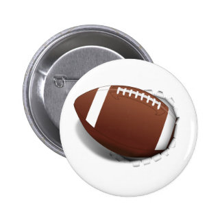 Football Tearing Out Pin