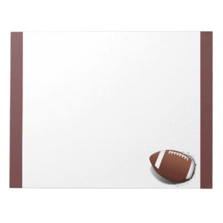 Football Tearing Out Notepad