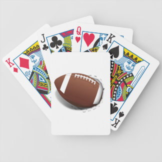 Football Tearing Out Card Deck