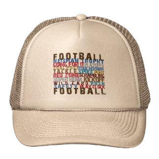 FOOTBALL TERMS TRUCKER HAT