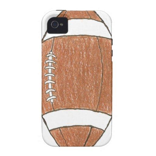 Football theme iPhone case