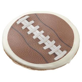 Football Theme Party Fun Sugar Cookie