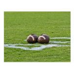 football themes postcard