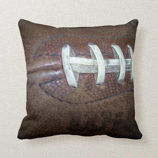 Throw Pillow Zazzle : Football Throw Pillow Zazzle