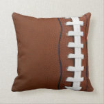 "Football Throw Pillow<br><div class=""desc"">Football Throw Pillow</div>"