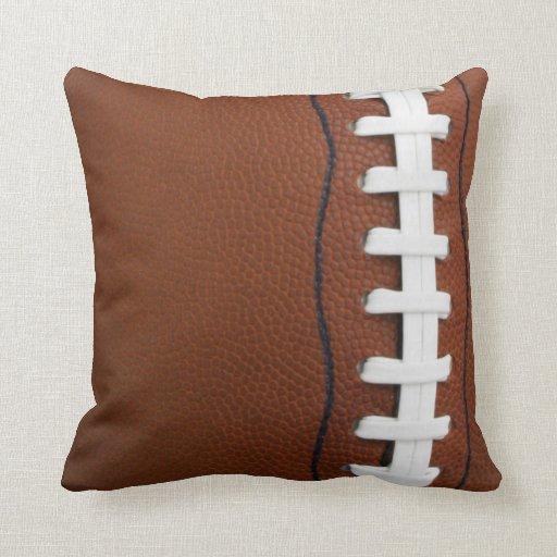 Throw Pillow Zazzle : Football Throw Pillow