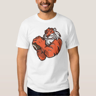 Football Tiger T Shirt