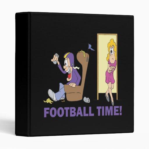 Football Time Binder