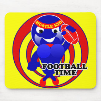 FOOTBALL TIME HUSTLE KID MOUSE PAD