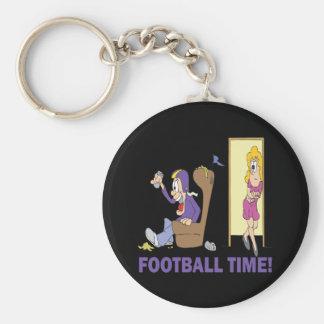 Football Time Keychain