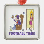 Football Time Ornaments