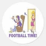 Football Time Sticker