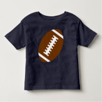 FOOTBALL TODDLER Navy Blue | Front Football Toddler T-shirt