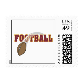 Football Toss T-shirts and Gifts Postage Stamp