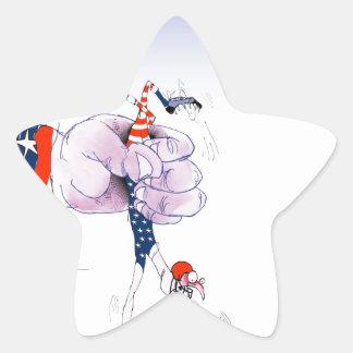 Football touch down, tony fernandes star sticker
