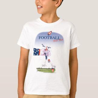 Football touch down, tony fernandes T-Shirt