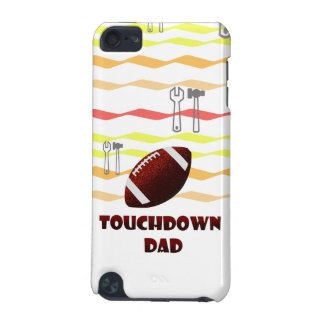 Football Touchdown Dad Father's day iPod Touch 5G Case