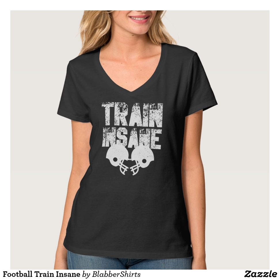 Football Train Insane T-Shirt - Best Selling Long-Sleeve Street Fashion Shirt Designs