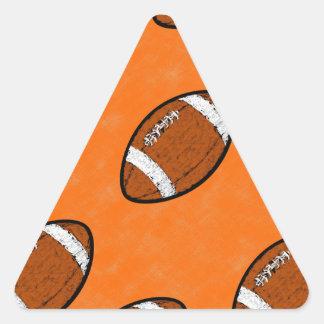 Football Triangle Sticker