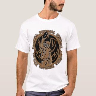 Football Tribal Brown Logo T-Shirt