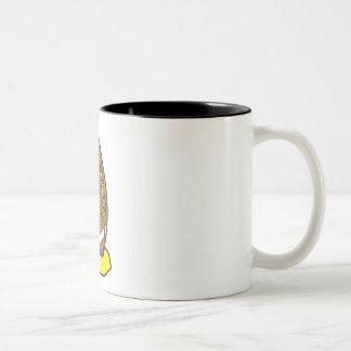 Football Two-Tone Coffee Mug