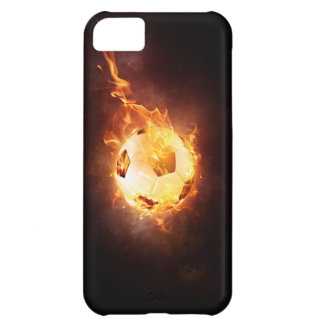 Football under Fire, Ball, Soccer iPhone 5C Cover