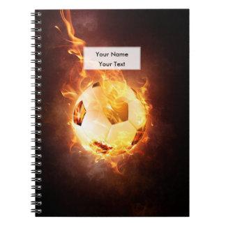 Football under Fire, Ball, Soccer Notebook