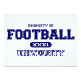 Football University Card