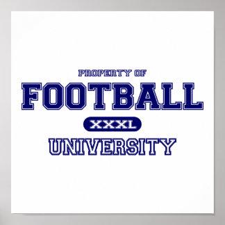Football University Poster