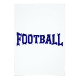 Football University Style Card