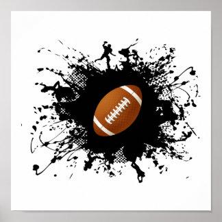 Football Urban Style Poster