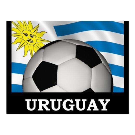 Football Uruguay Postcard