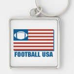 football usa keychains