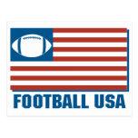 football usa postcard